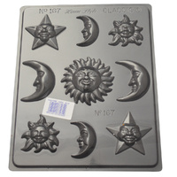Home Style Chocolates Sun & Moon Chocolate Mould