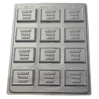 Home Style Chocolates Enjoy Your Stay Chocolate Mould