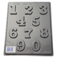 Home Style Chocolates Numbers Mould