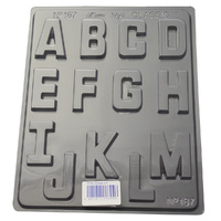Home Style Chocolates Alphabet A-M Chocolate Mould