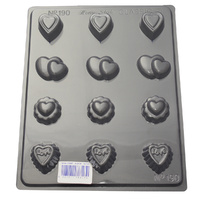 Home Style Chocolates Sweet Hearts Assorted Chocolate Mould