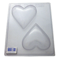 Home Style Chocolates Hearts Xtra Large Chocolate Mould