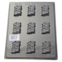 Home Style Chocolates Crazy Houses Chocolate Mould