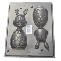 Home Style Chocolates Happy Rabbit Chocolate Mould