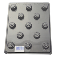 Home Style Chocolates Star Serrated Edge Chocolate Mould