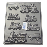 Home Style Chocolates Trains Chocolate Mould