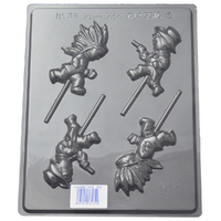Home Style Chocolates Cowboys & Indians Chocolate Mould