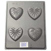 Home Style Chocolates Heart Box Small Chocolate Mould