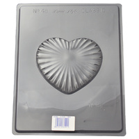 Home Style Chocolates Heart Box Lid Large Chocolate Mould