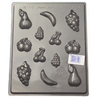 Home Style Chocolates Assorted Fruits Chocolate Mould