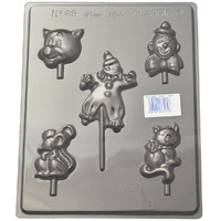 Home Style Chocolates Clowns Chocolate Mould