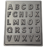 Home Style Chocolates Alphabet Chocolate Mould
