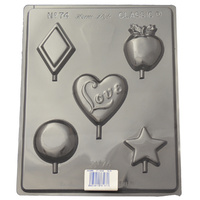 Home Style Chocolates Lollipops Chocolate Mould