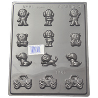 Home Style Chocolates Little People Chocolate Mould