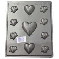 Home Style Chocolates Heart Variety Chocolate Mould