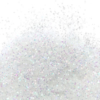 Barco Flitter Glitter - Non Toxic -10ml - Multi Colour (White)