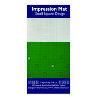 PME SMALL SQUARE IMPRESSION MAT