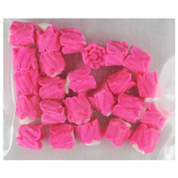 HOT PINK ROSES 10MM PACK OF 24
