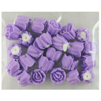 LAVENDER ROSES 10MM PACK OF 24