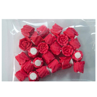 RED ROSES 10MM PACK OF 24