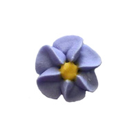 Icing Lavender Drop Flowers 18mm - 50 Pack