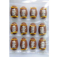 Rugby Balls 17mm - 12 Pack
