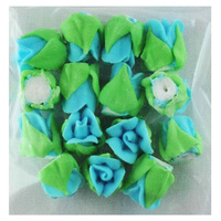 BLUE ROSE BUDS 15MM PACK OF 15