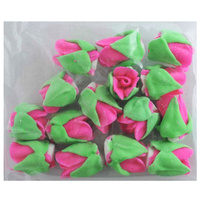 HOT PINK ROSE BUDS 15MM PACK OF 15