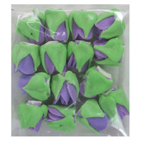 LAVENDER ROSE BUDS 15MM PACK OF 15