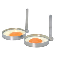 Kitchen Craft Egg Ring Set Stainless Steel