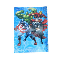 Avengers Plastic Table Cloth