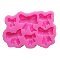 Bow Silicone Fondant Mould