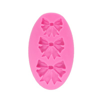3 Bow Silicone Fondant Mould