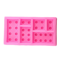 Lego Blocks Silicone Fondant Mould