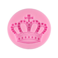 Crown Silicone Fondant Mould
