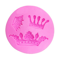 Multi Crown Silicone Fondant Mould