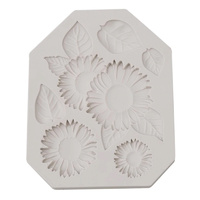 Sunflower  Fondant Mould