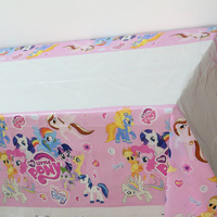 Pony Plastic Table Cloth