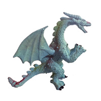 Dragon Cake Topper Blue