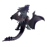 Dragon Cake Topper Grey