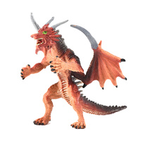 Dragon Toy Decoration Red
