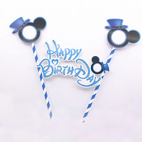 Mickey Mouse Cake Flag Topper