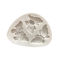 Multi Butterfly Silicone Fondant Mould