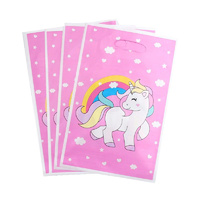 Rainbow Unicorn Loot Bags 10pcs