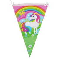 Unicorn Rainbow Flag Banner