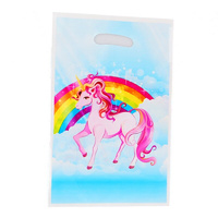 Pink Unicorn Loot Bags 10pcs