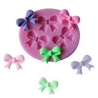 Silicone Mould 3 Bows