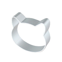 Cat Head Cookie Cutter 6cm