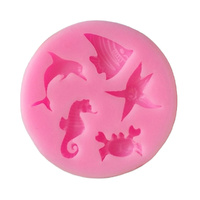 SILICONE MOULD - SMALL FISH