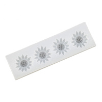 SILICONE FLOWERS 12CM MOULD